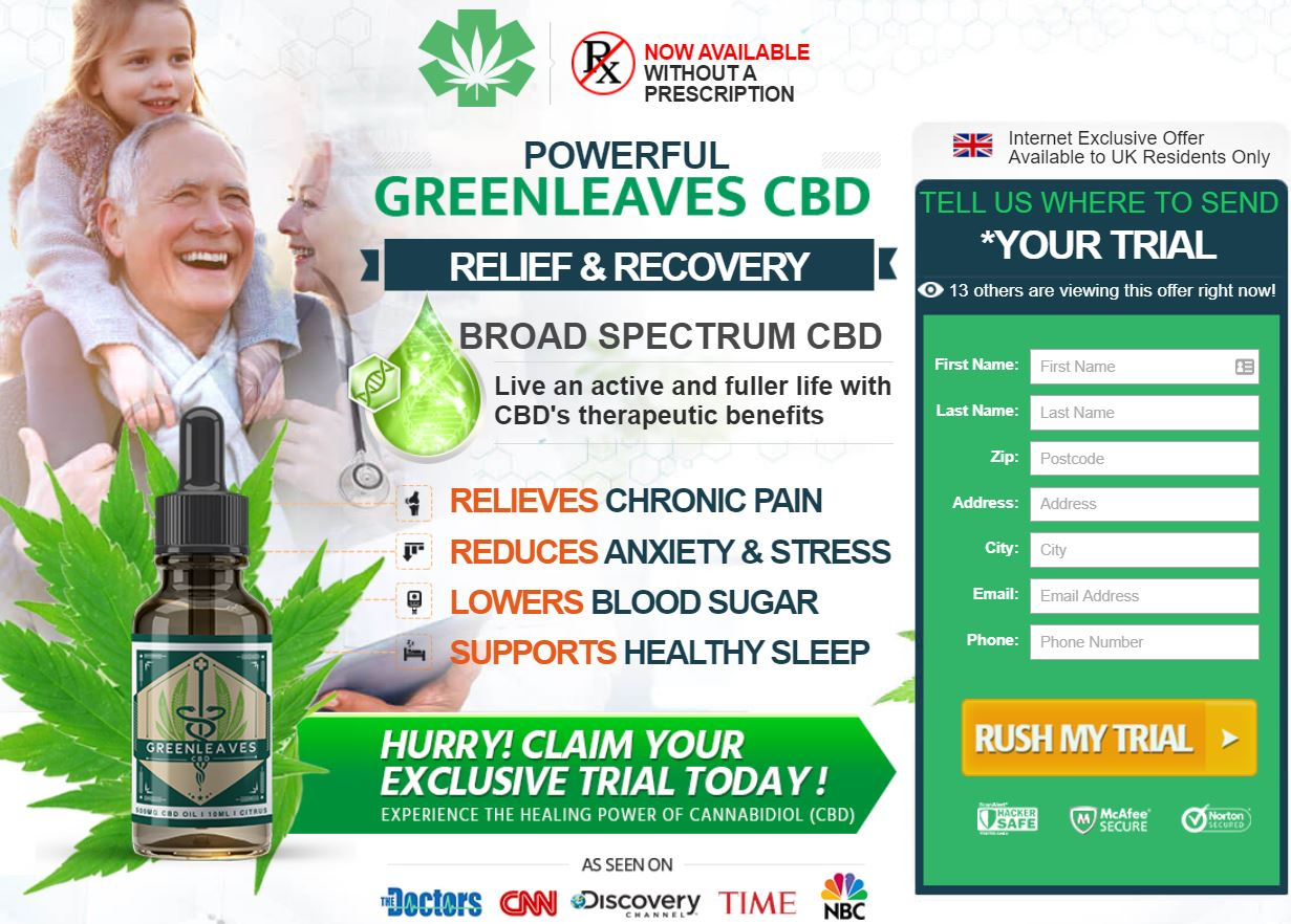 Greenleaves CBD Oil